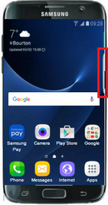 reputable site 3ccb0 d70f3 How do I change the edge panel settings on my Samsung Galaxy S7 Edge ...