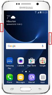 Cara merestart Samsung Galaxy S7 atau S7 Edge saat hang?